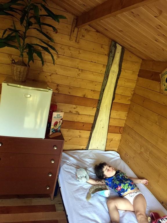 La hutte du foxy petit chalet pour 2 pour un s jour - La grange du bien etre vendegies au bois ...